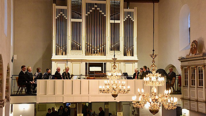 Die neue Orgel in Oldenburg in Holstein